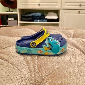 Finding Dorey Crocs